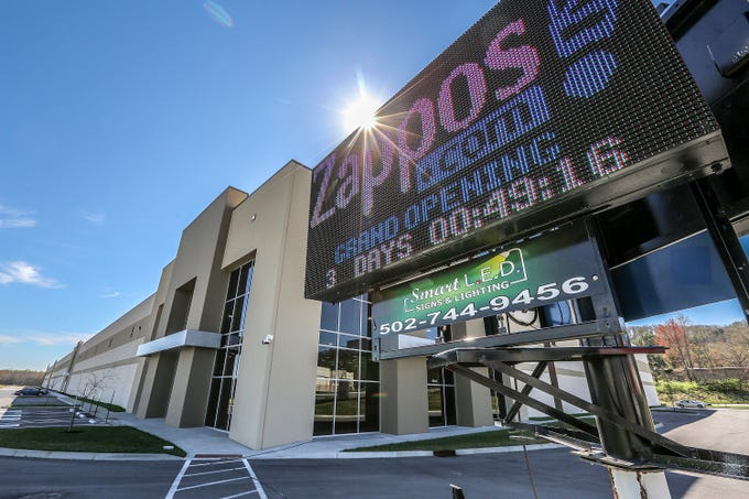 The new Zappos outlet on Minors Lane.