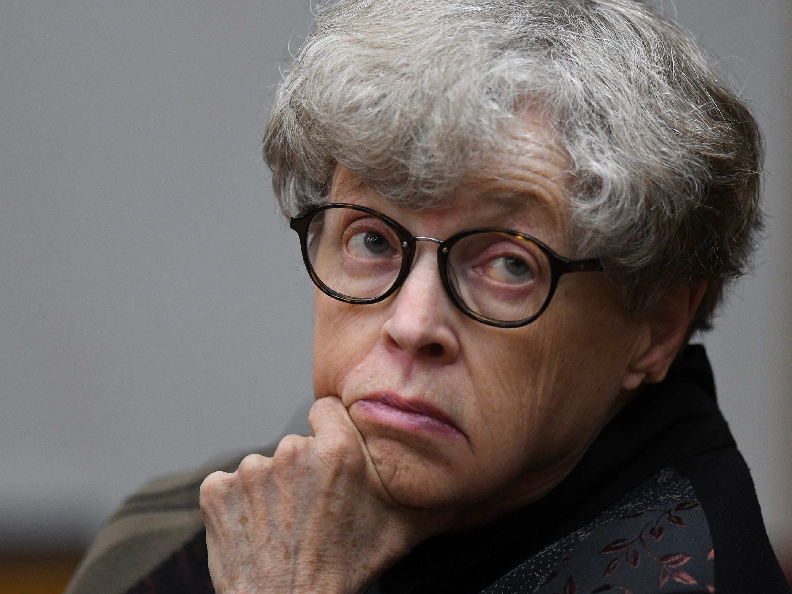 Lou Anna Simon's attorneys say no Michigan State officials or documents used Nassar's name in 2014