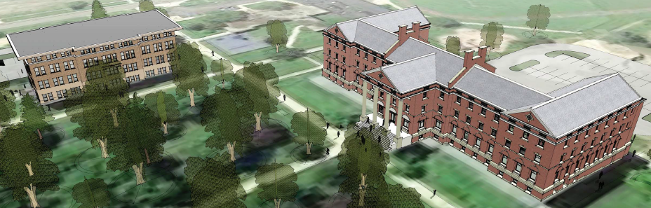 The Abigail, right, is a project that calls for 42 units of senior housing (22 two-bedroom and 20 one-bedroom). An Indianapolis-based developer expects to have it completed by early 2020.