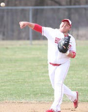 Plymouth's Draven Kelley has the Big Red sitting at .500 on the year and poised to make another surprising tournament run.