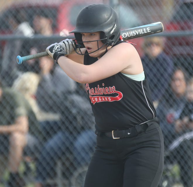 Crestview's Clare Robinson smashed two home runs, including a grand slam, with 10 RBI in a win over Western Reserve.