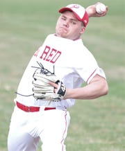 Plymouth's Treven Lane threw all seven innings allowing two runs, one earned, on seven hits with six strikeouts. in a 3-2 win over Crestview on Monday.