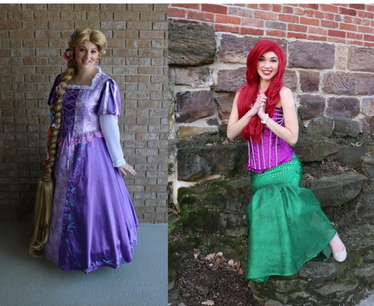 Children can meet Rapunzel and the Little Mermaid 9:45 a.m. Saturday during a character breakfast at Buck's Bar and Grill in Lexington.
