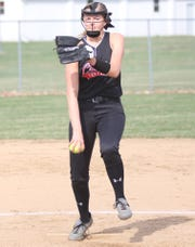 Crestview's Kylie Ringer was named the Firelands Conference Pitcher of the Year for 2019.