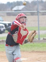 Crestview's Klay Patton is back behind the dish as the general of the deep Cougars' pitching staff.