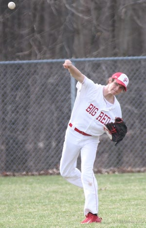 Plymouth's Zeth Goth will anchor a deep pitching staff for the Big Red.