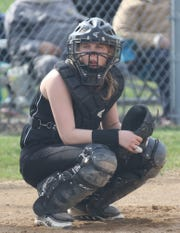 Crestview's Paige Schaefer led the Lady Cougars to an 18-0 win over South Central with four hits and four RBI.