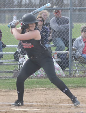 Crestview's Clare Robertson had a huge day at the plate with two home runs, including a grand slam, and 10 RBI in a win over Western Reserve last week helping the Lady Cougars claim the top spot in the Richland County Softball Power Poll.