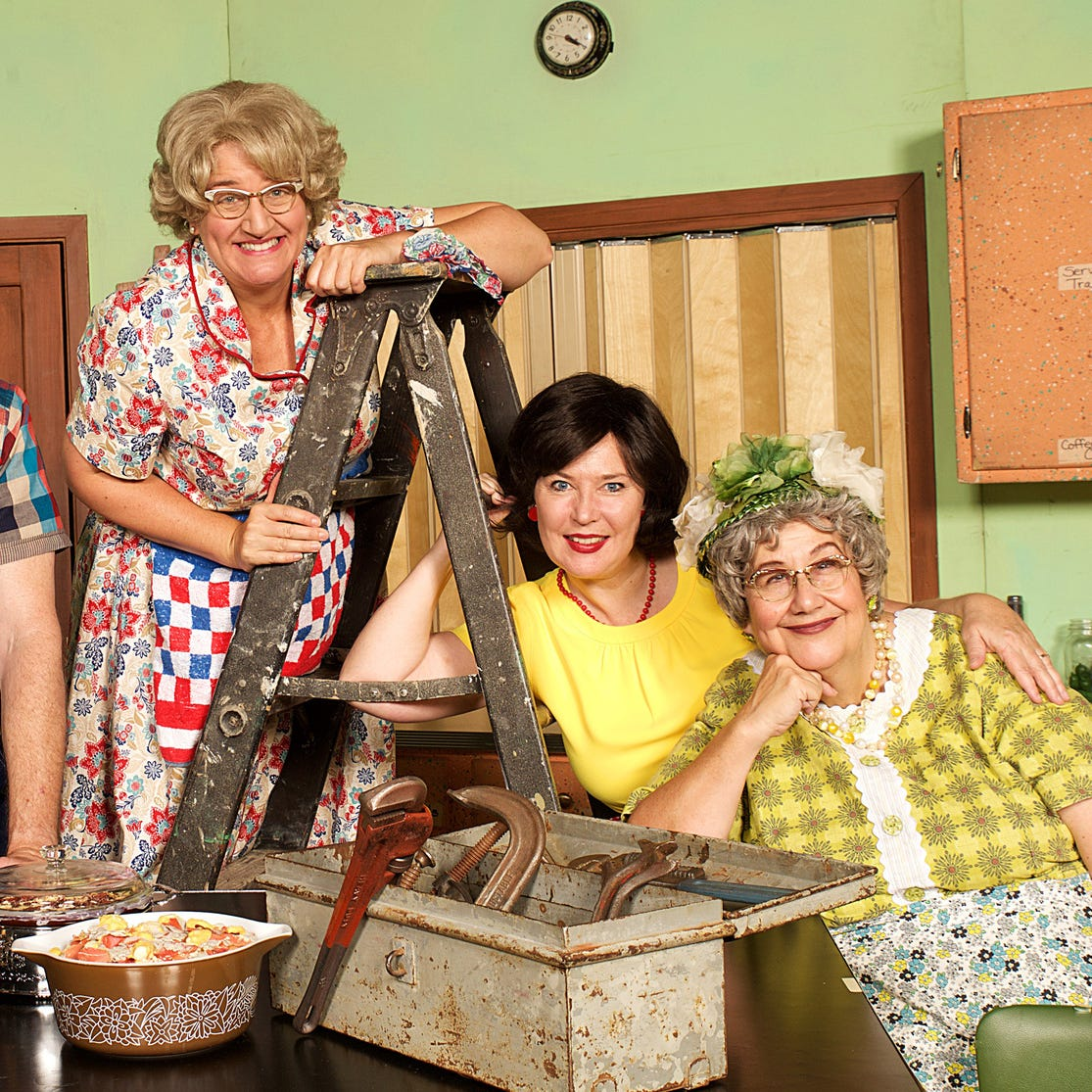 Entertainment: Palace to present Church Basement Ladies musical comedy