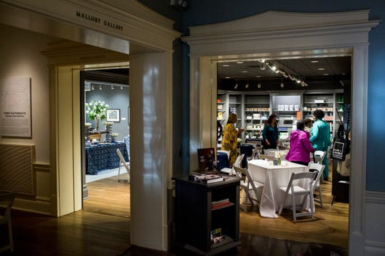 A look inside of Park and Cherry, the cafe at the Dixon Gallery and Gardens on Monday. Phillip Dewayne is the new chef and owner of the cafe.