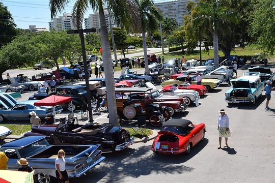 "The Art Center  on Winterberry Drive hosted the 6th Annual ""Cars as Art"" event featuring pre-1978 unmodified antique and classic automobiles."