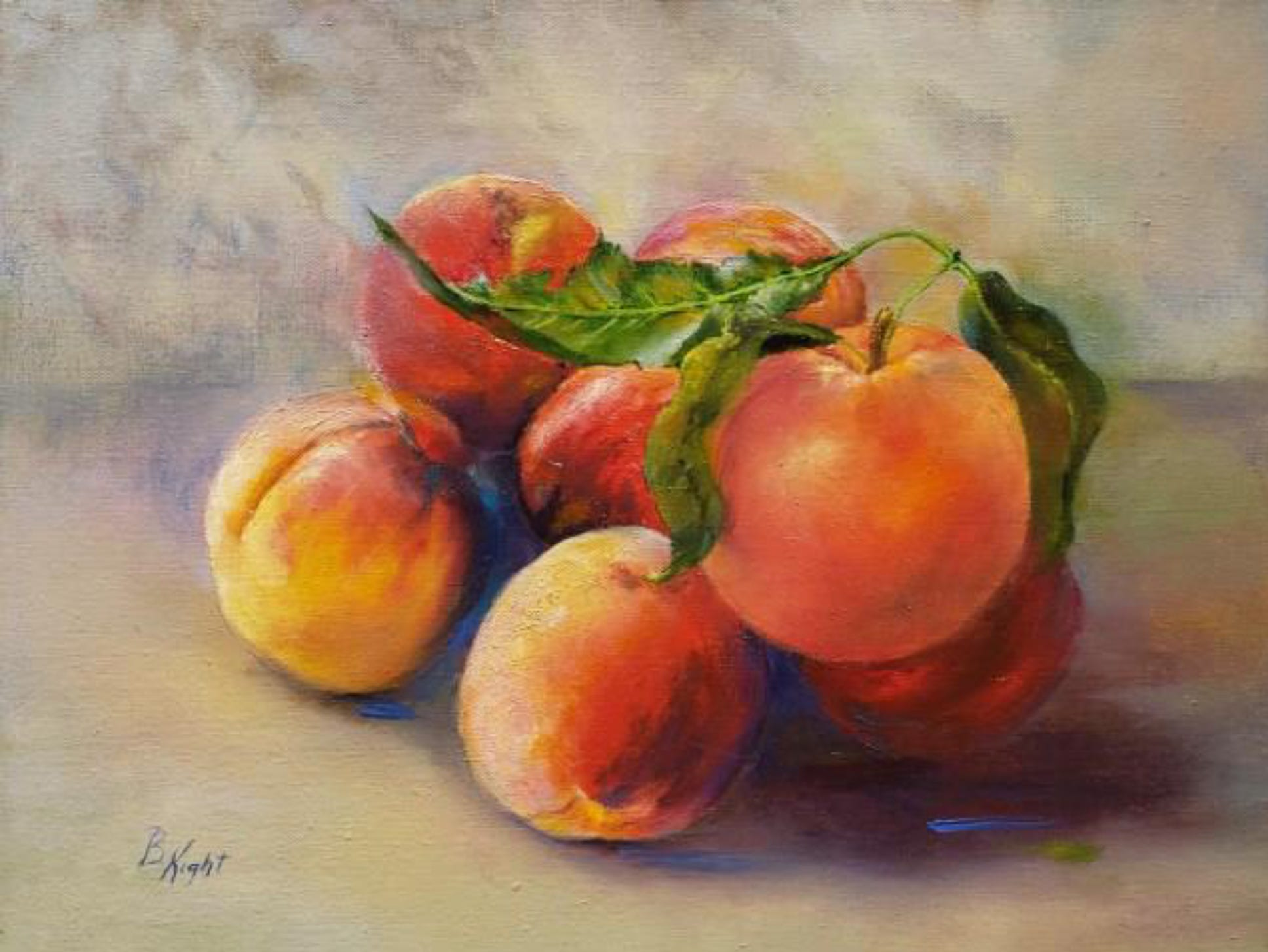 """Florida Peaches"" by Bettye Kight"