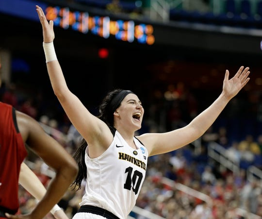 Iowa's Megan Gustafson could be a first-round WNBA draft pick.
