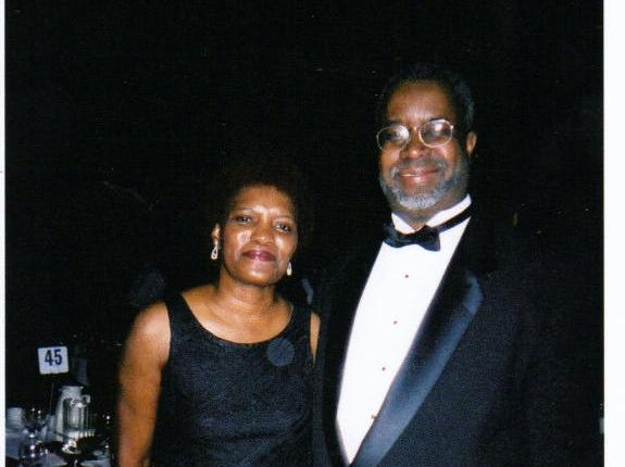 Greg Stanford attends Milwaukee's Black & White Ball with his longtime partner Cynthia Henry.