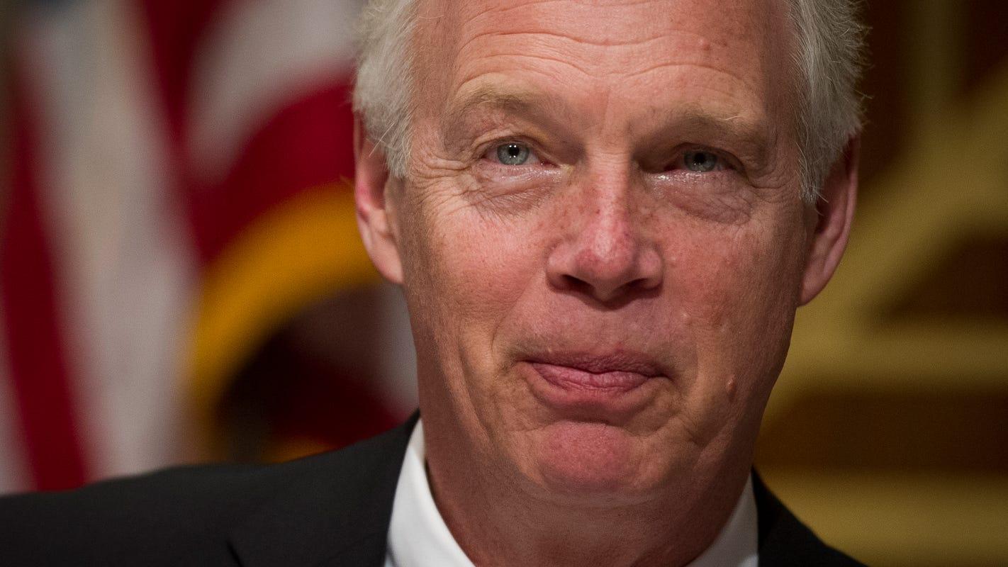 Sen. Ron Johnson skeptical of Trump's plan to ban vaping products