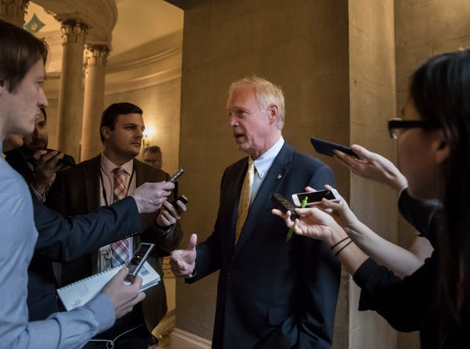 U.S. Sen. Ron Johnson, R-Wisconsin, said in an interview that he acknowledged Biden as the president-elect and believed the election was legitimate.