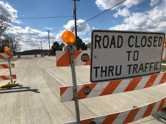 The signs are up marking the closure of Northview Road between Tallgrass Circle and Meadowbrook Road. The project, which picks up where the 2018 project ended, involves the complete reconstruction of the road, minus the kind of utility work that caused such a long delay in project completion last year.