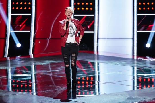"""Kenosha-based singer Betsy Ade lost the battle rounds on """"The Voice"""" Monday, and was eliminated from John Legend's team. But her run on the NBC show continues; Kelly Clarkson used her """"steal"""" option to recruit Ade to her team."""