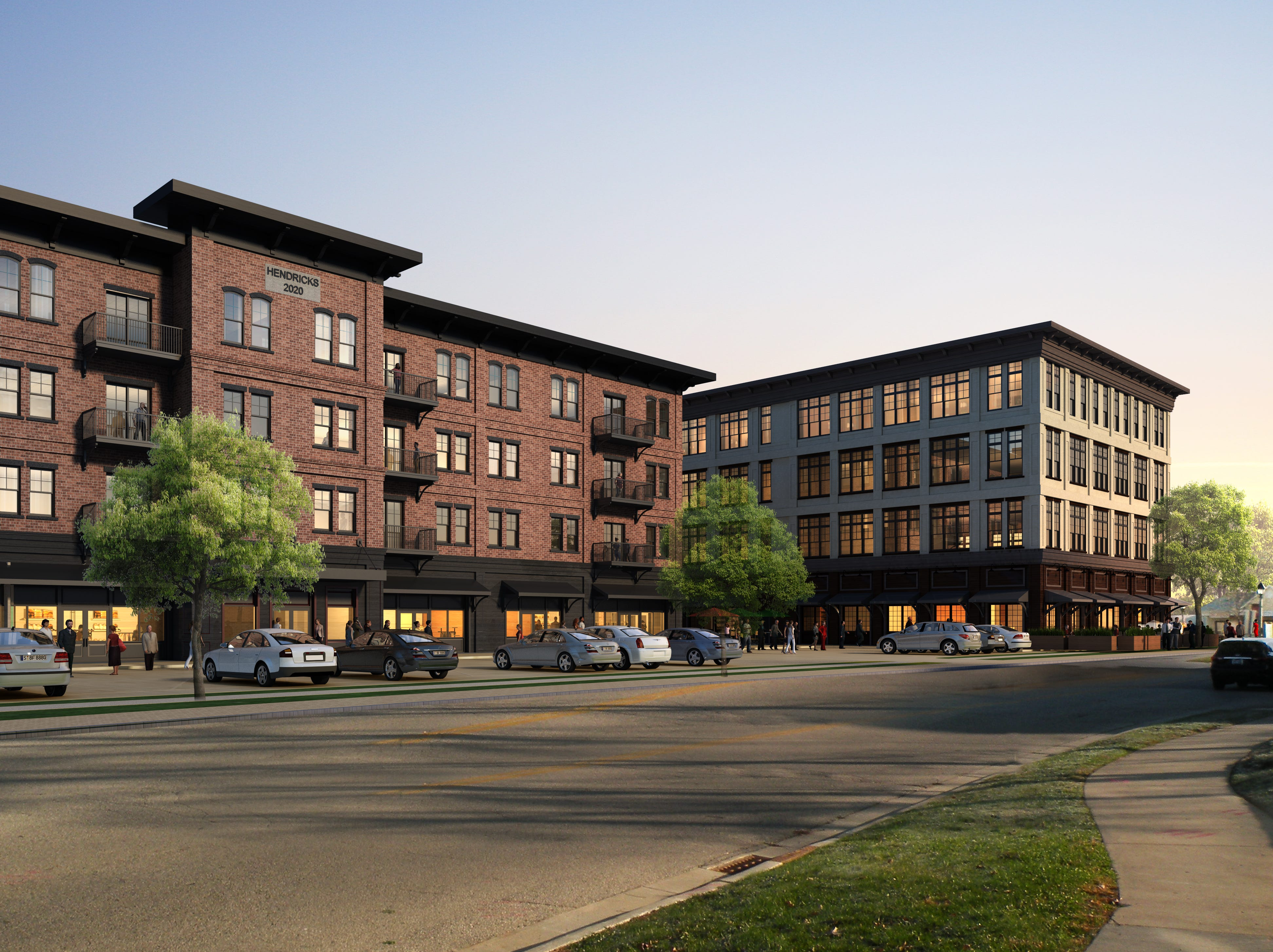Hendricks Commercial Properties is proposing a two building development in the city of Delafield.