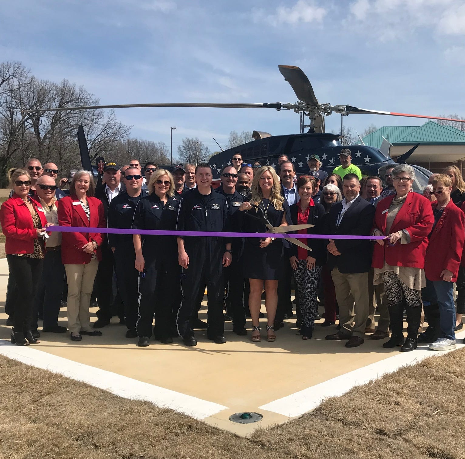 Chamber cuts ribbon for Air Evac