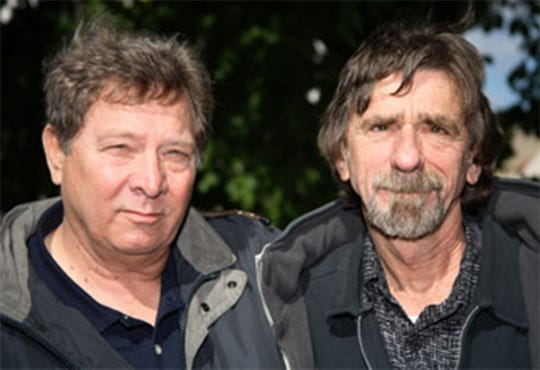 Dan Penn, left, and Spooner Oldham are speaking and performing in Montgomery on Saturday, April 13.