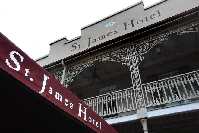 The historic St. James Hotel  in Selma, Ala. shown in a 2009 file photo.