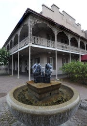 The historic St. James Hotel in Selma, Ala. on Tuesday June 23, 2009.