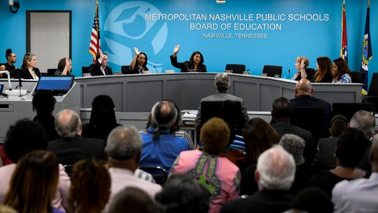 The Nashville school board votes on the deal that ended former Director of Schools Shawn Joseph's contract on April 9.