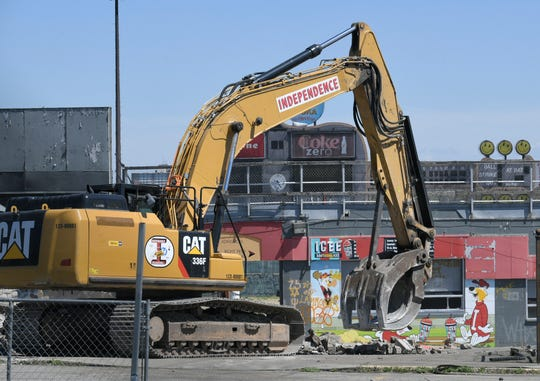 Demolition of Greer Stadium has started. Crews tear down the 41-year-old stadium which opened in 1978 as the home of the Nashville Sounds minor league baseball team, but the team moved to the new First Tennessee Park in Germantown in 2015.