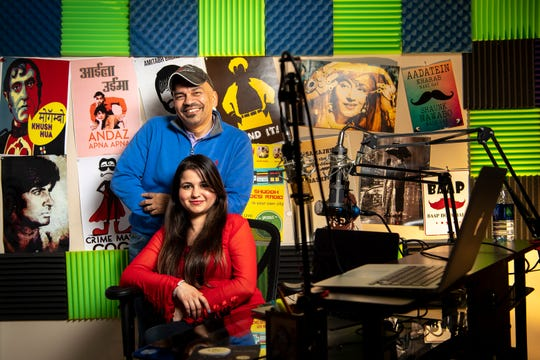 Andy Sathe and Shalini Dixit run Shuddh Desi Radio from a studio in Brentwood.