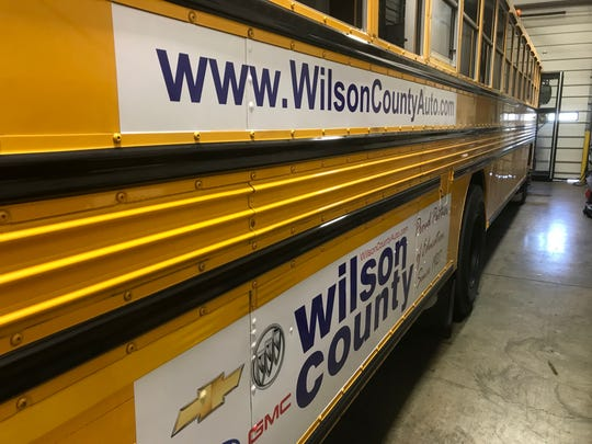 The Lebanon Special School District has started selling advertising on its school buses. Maury, Putnam and Cheatham counties are among other school districts that sell bus ads.