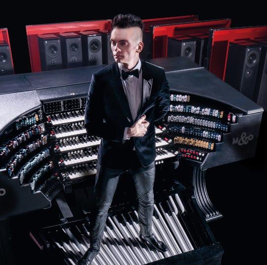 "Cameron Carpenter won't play it here,  but has a ""touring"" digital organ."