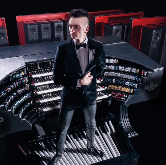 "Cameron Carpenter won't play it here,  but has a ""touring"" digital organ."