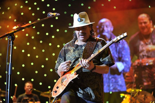 Carlos Santana with Earth, Wind & Fire roll into Florida this summer 2020.