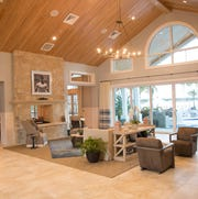 The Island Club social center features a 5,160 square foot clubhouse.