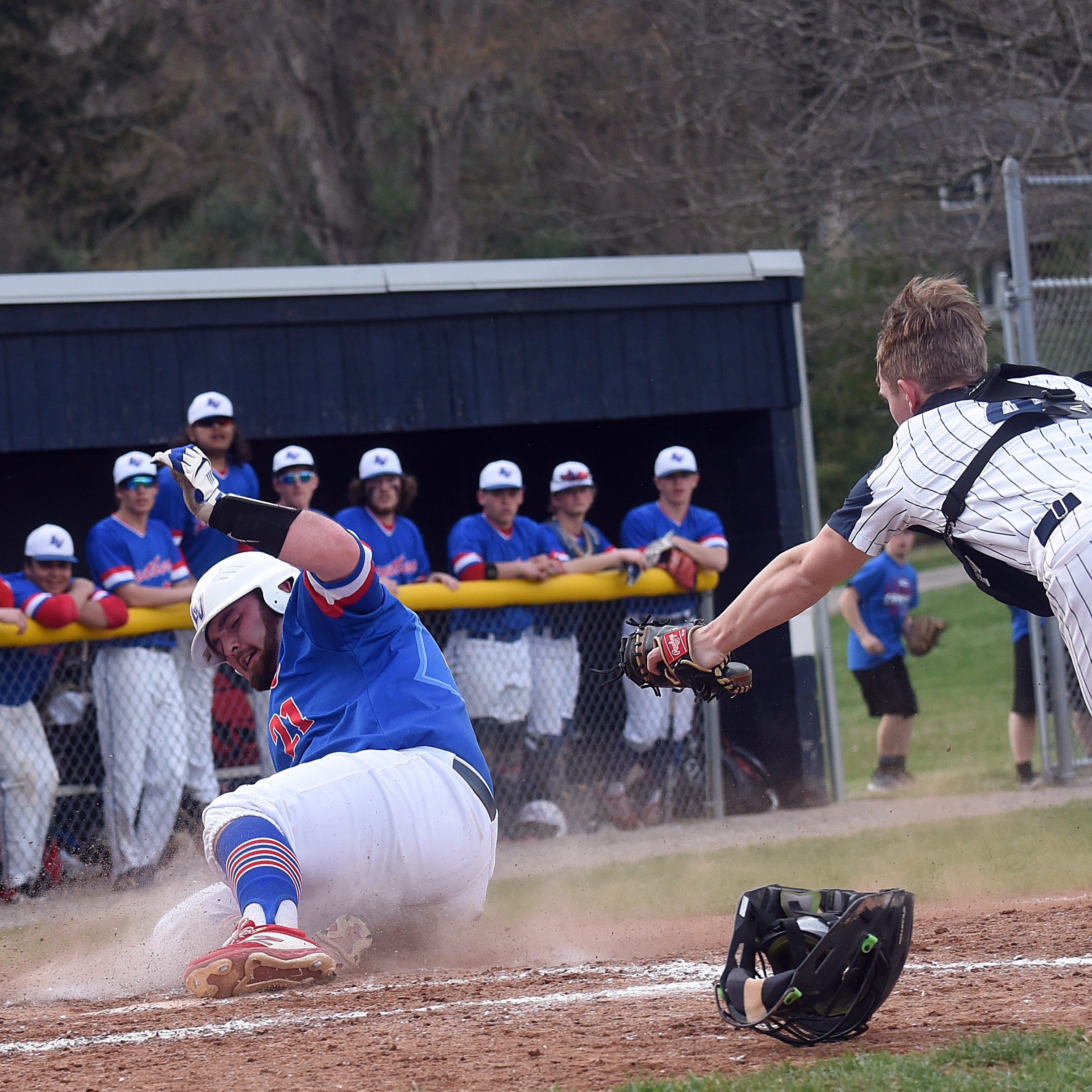 Panthers pounce for big LCL baseball win at Granville