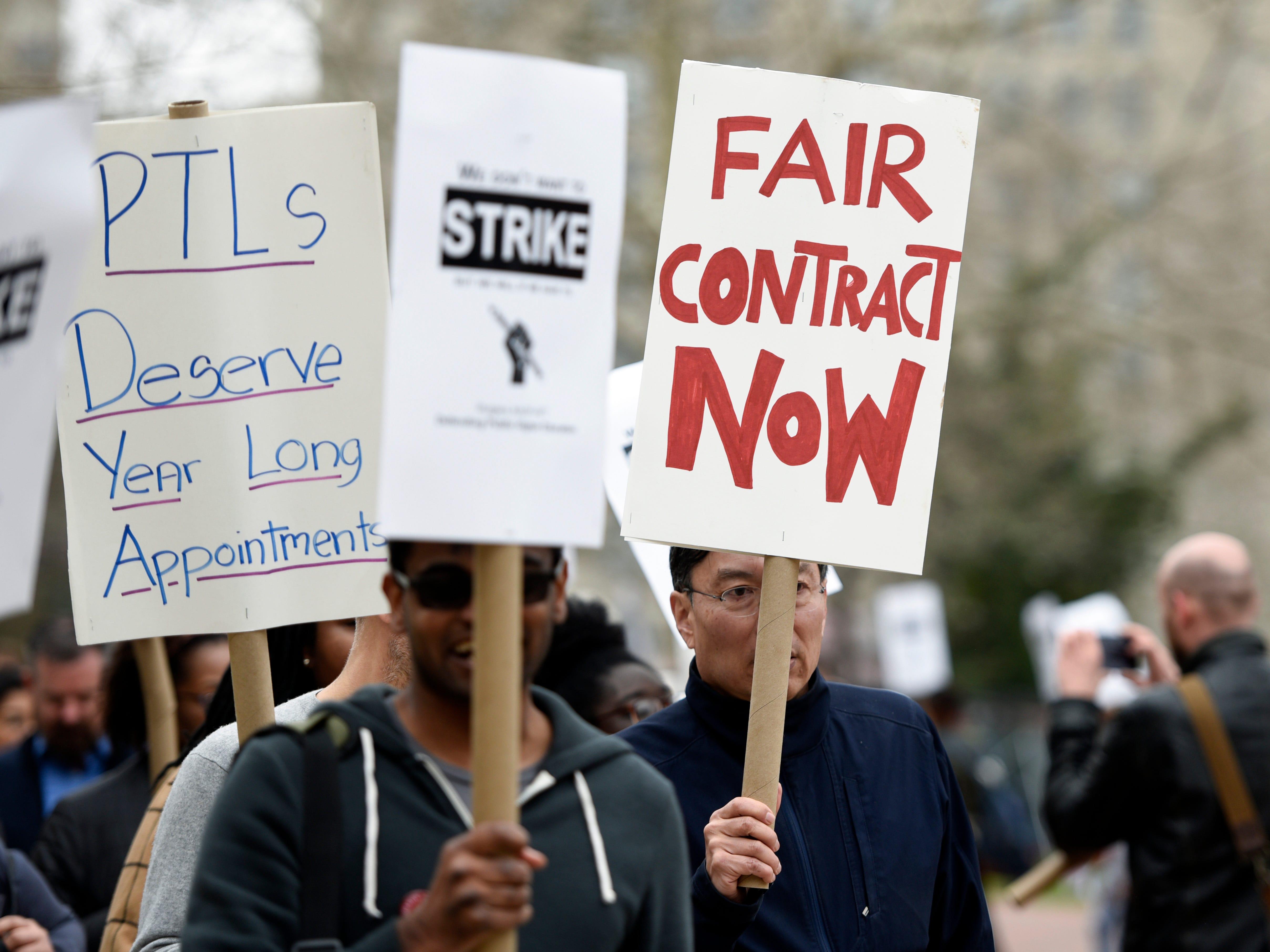 With contract talks making progress, Rutgers University professors postpone strike