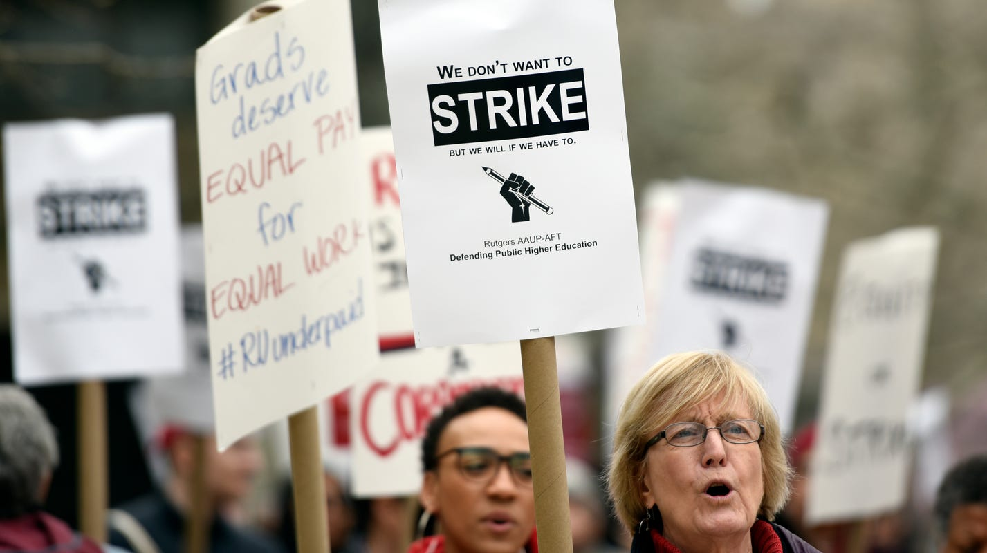 Rutgers Final Exam Schedule Spring 2019 Will Rutgers University faculty strike? Here's what we know