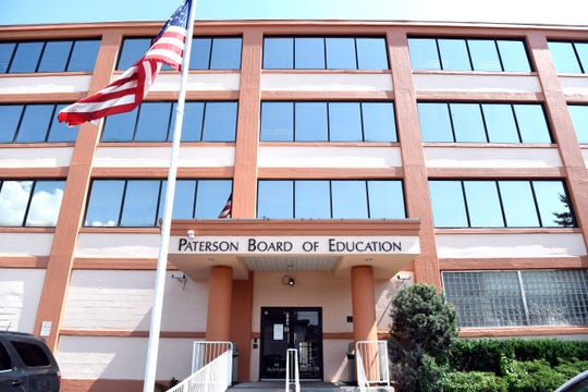 Paterson Board of Education building, photographed on Tuesday, July 18, 2017.