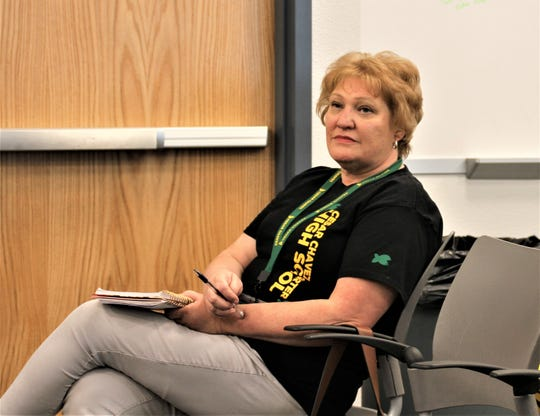 English Arts teacher Lynda Call of Deming Cesar Chavez Charter High School