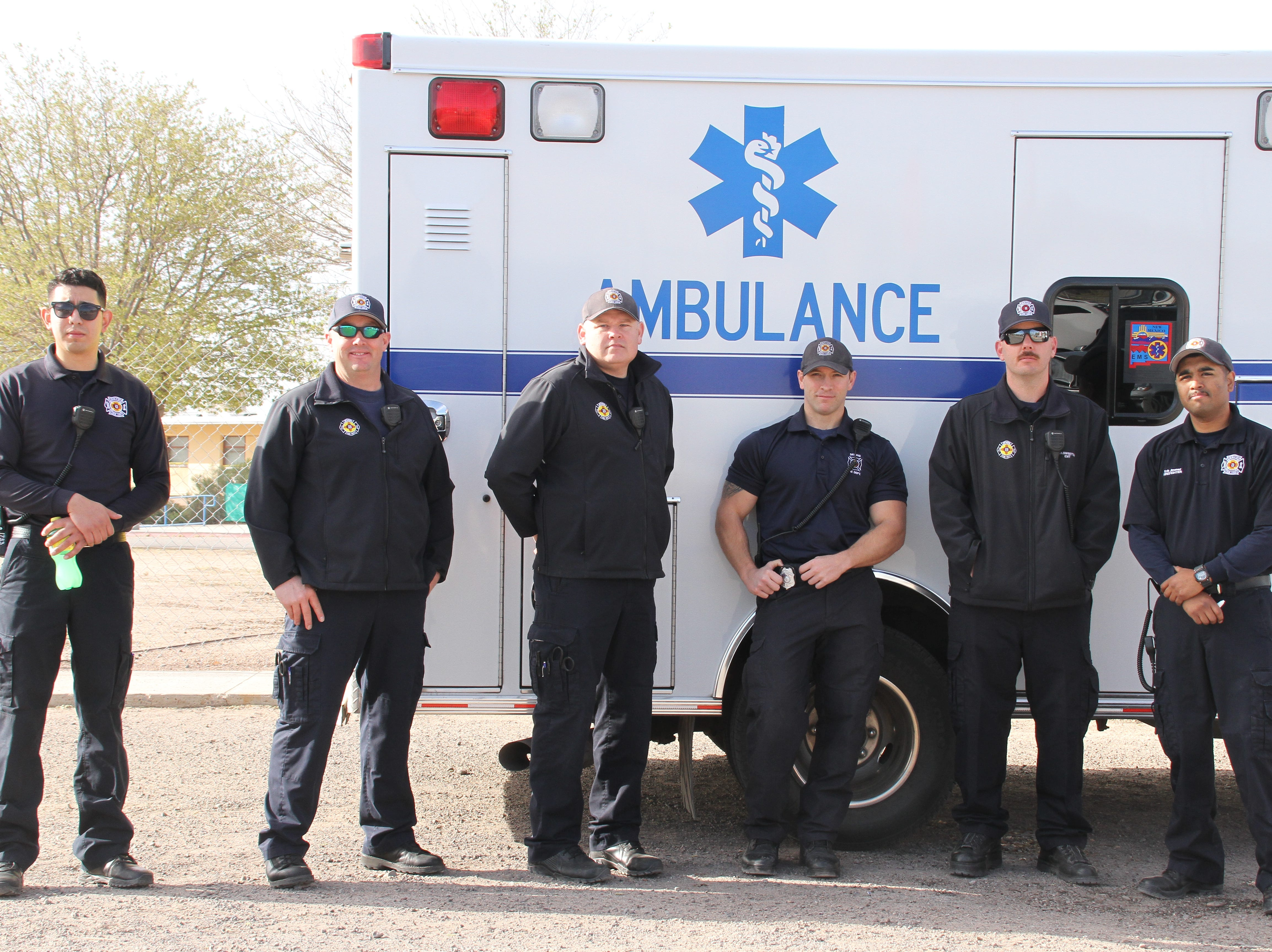 Deming First Responders attend the second annual of Deming Autism Walk.