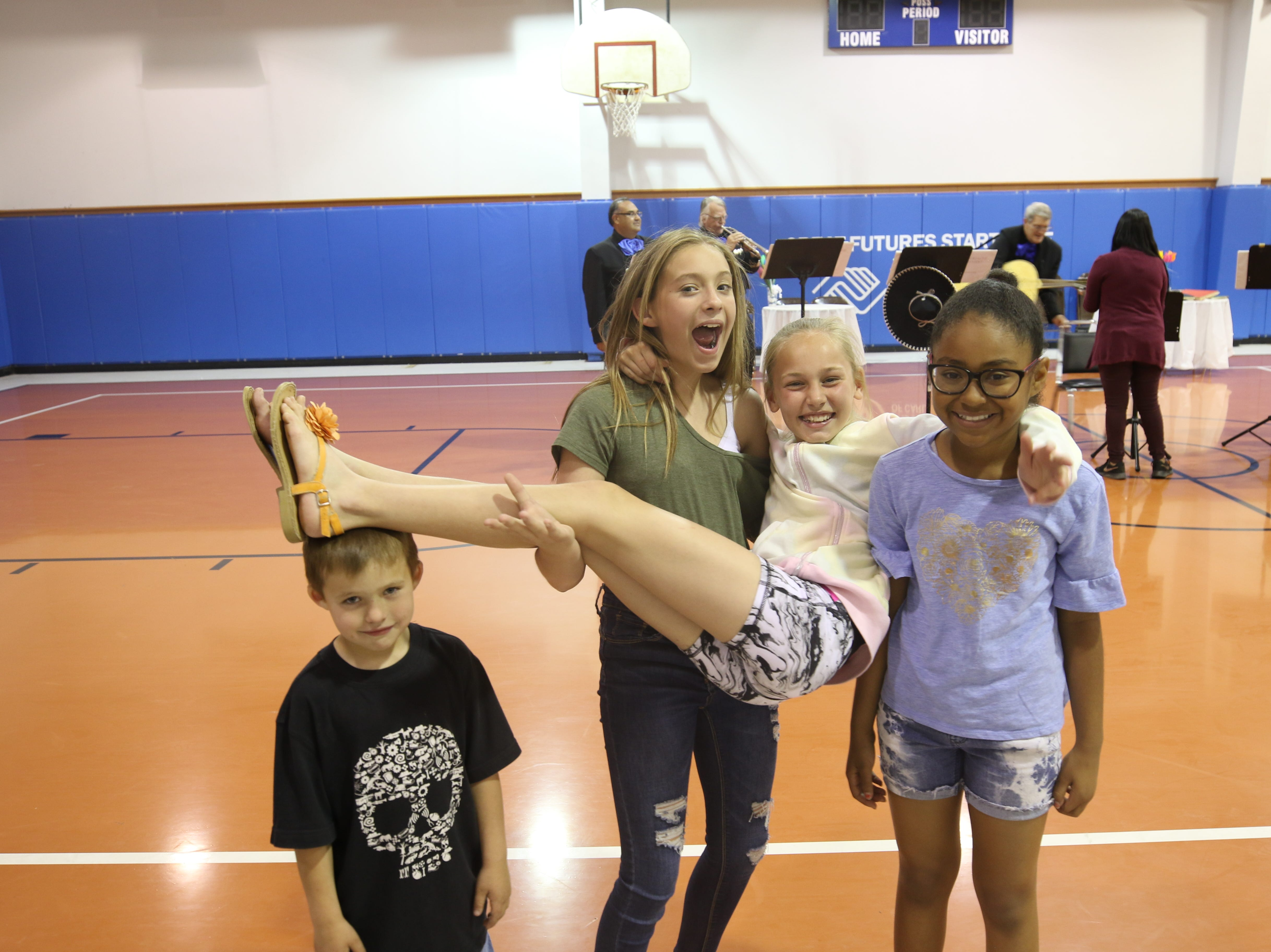 Attendees enjoy the Boys and Girls Club Week Celebration Kick-off, April 8, 2019 at the Boys and Girls Club of Carlsbad.