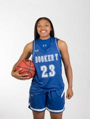 2019- Winter-PNJ All-Area Athlete - Girls basketball player of the year - Jaila Roberts from Washington High School - portrait in Pensacola on Wednesday, March 27, 2019.