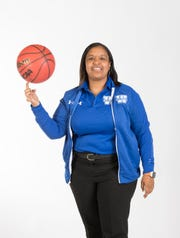 2019- Winter-PNJ All-Area Coach of the Year - Jade Brown from Washington High School - portrait in Pensacola on Wednesday, March 27, 2019.