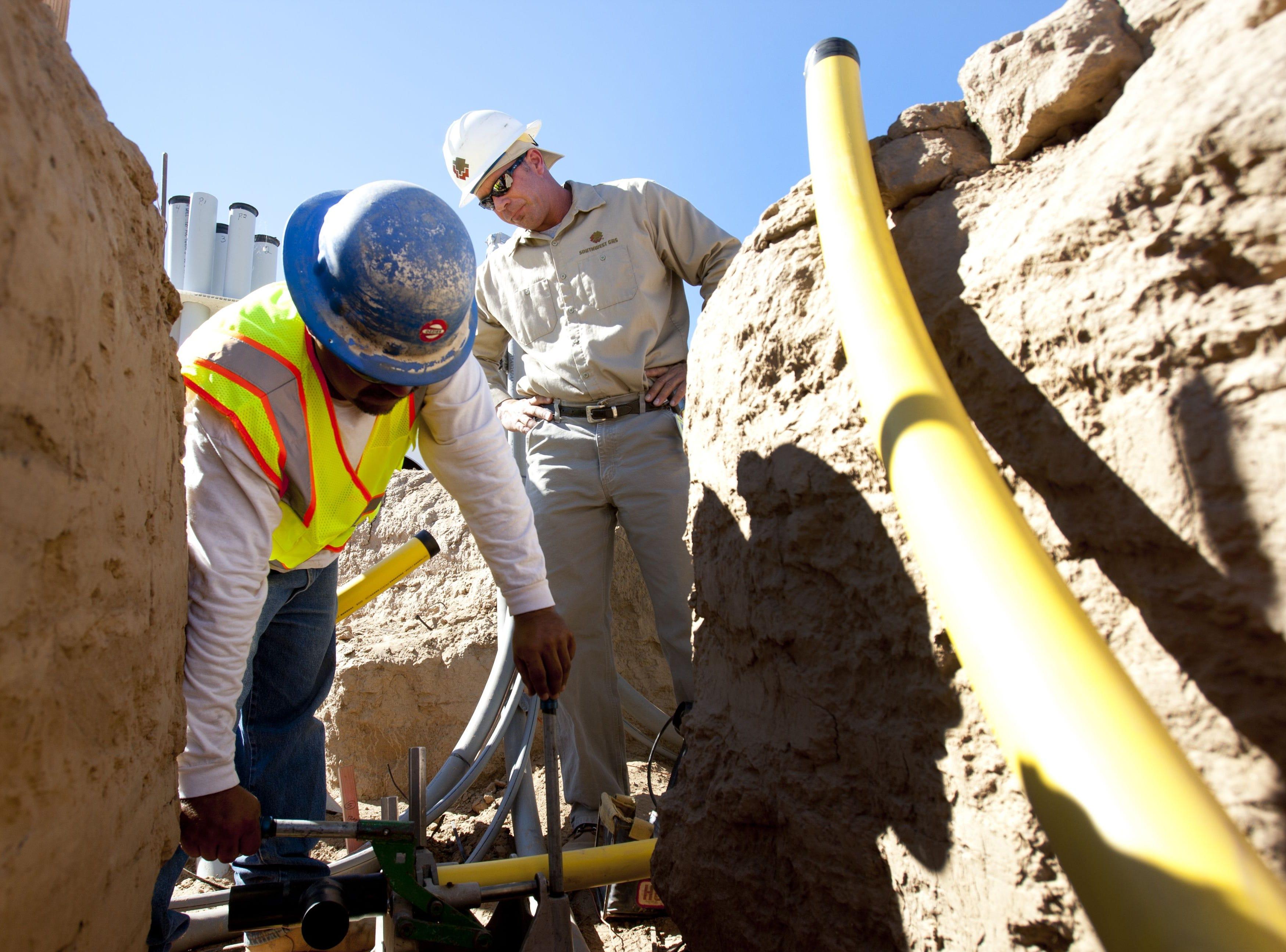No. 81: Southwest Gas Corp. | Natural gas utility | 2019 employees: 2,255 | 2018 employees:2,276 | Ownership:Public | Headquarters: Las Vegas | www.swgas.com