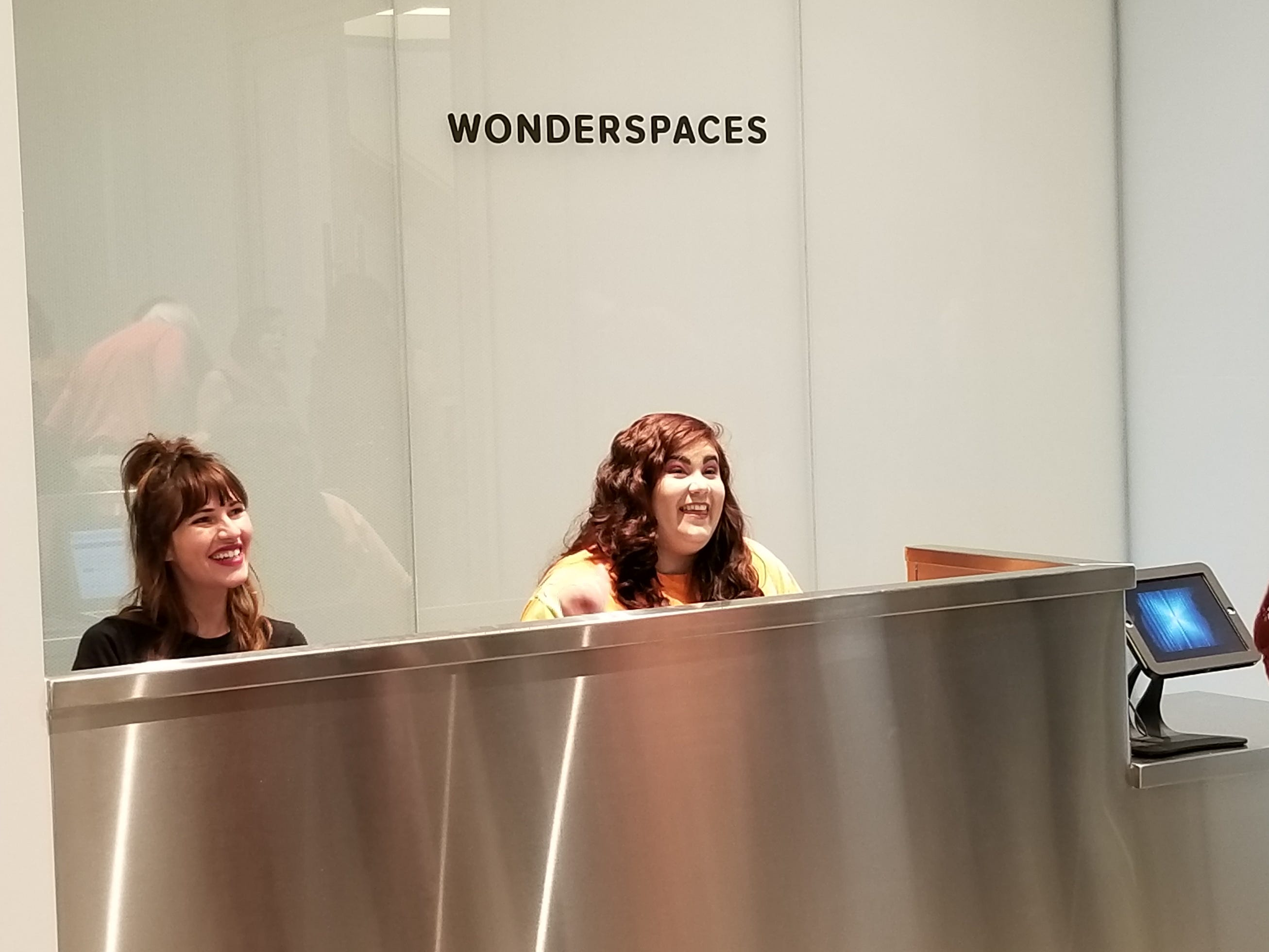 """Wonderspaces Arizona opened inside the Scottsdale Fashion Square mall on Friday, April 5, 2019, with a show titled """"Point of View,"""" featuring immersive installations that visitors can interact with."""