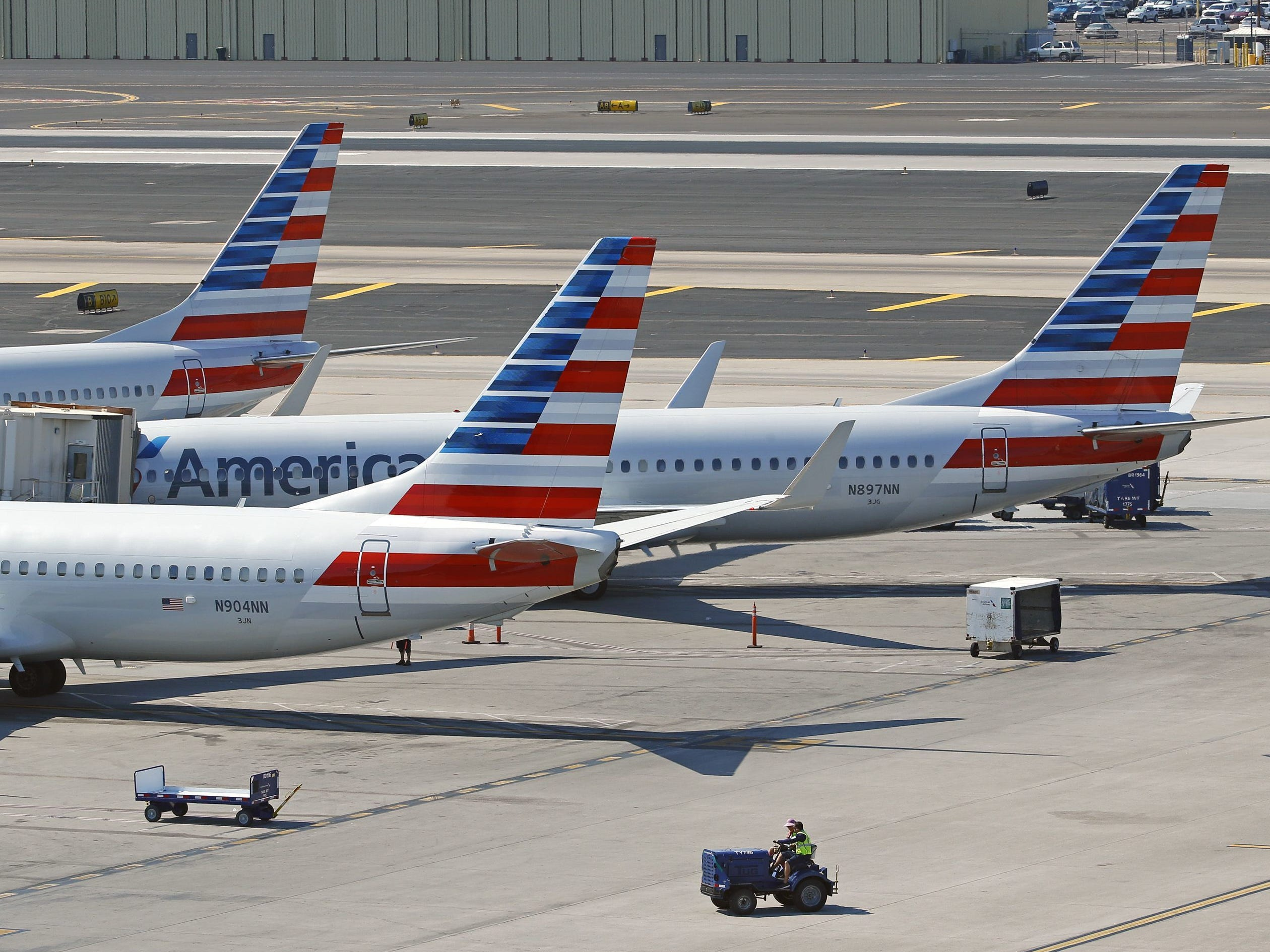 No. 13 (tie): American Airlines Group | Airline | 2019 employees: 10,000 | 2018 employees: 10,000 | Ownership: Public |Headquarters: Fort Worth, Texas | www.aa.com