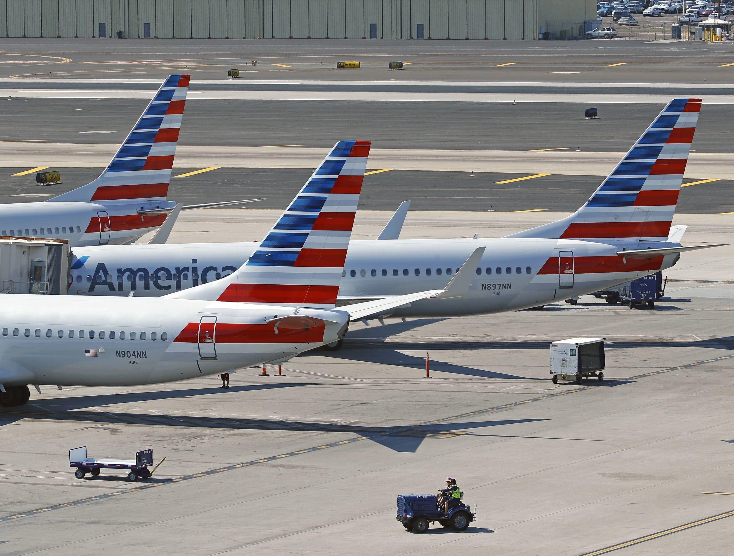 No. 13 (tie): American Airlines Group   Airline   2019 employees: 10,000   2018 employees: 10,000   Ownership: Public  Headquarters: Fort Worth, Texas   www.aa.com