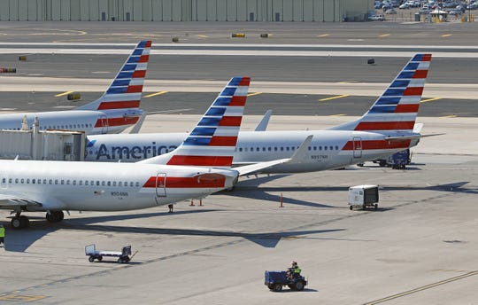 Law enforcement met an American Airlines flight at Sky Harbor Airport Friday morning.