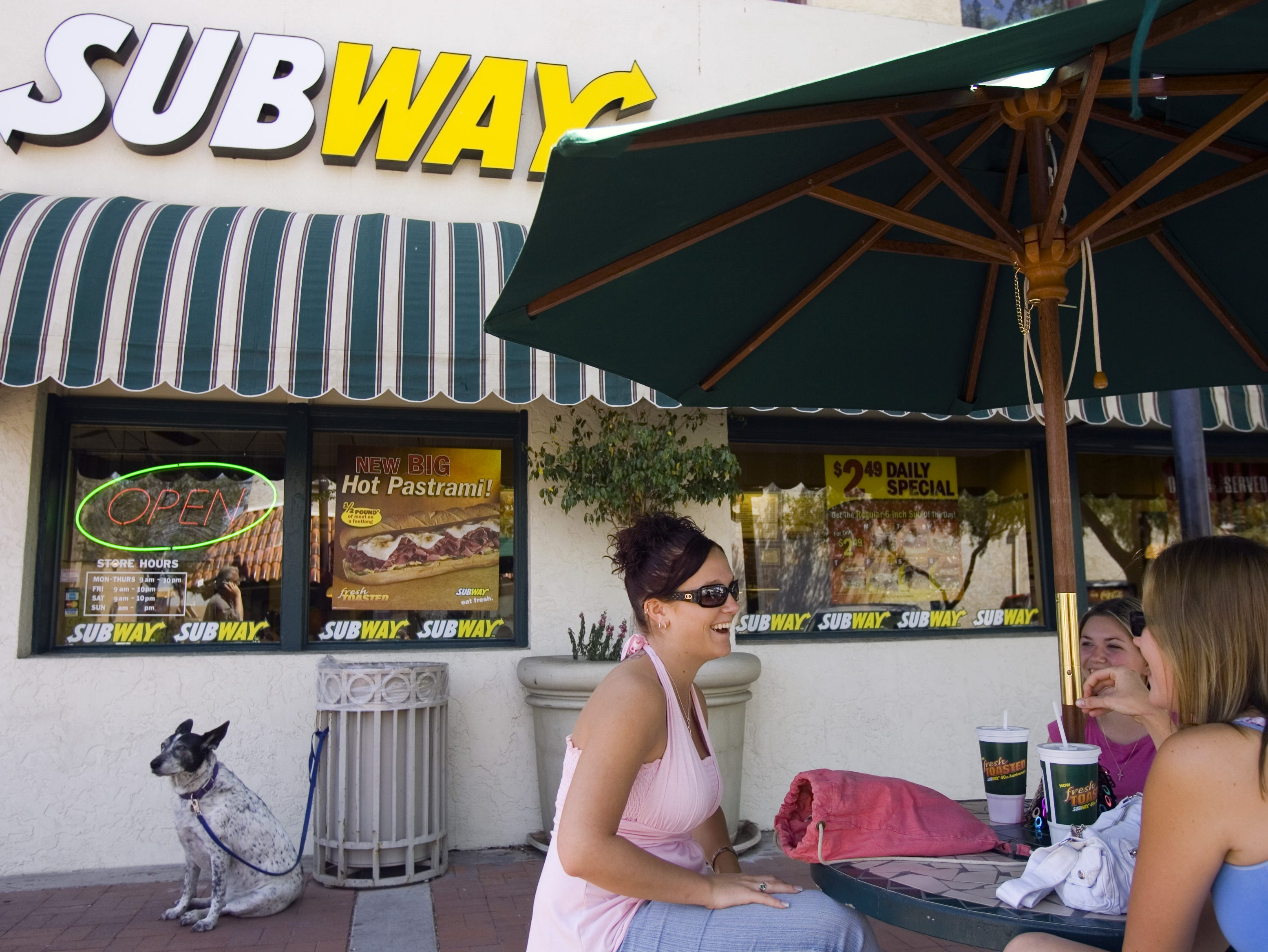 No. 38 (tie): Subway | Fast-food restaurants | 2019 employees: 4,500e (estimated by Arizona Republic) | 2018 employees: 4,500 | Ownership: Private | Headquarters: Milford, Connecticut | www.subway.com